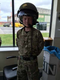 Cdt Daniel ready for flt