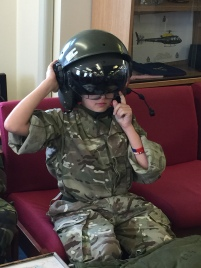 Cdt Warrick ready for flt